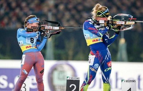 Рёйселанд выиграла гонку преследования в Нове-Место, Юрлова-Перхт — 25-я