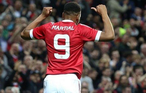 Марсьяль тратит в среднем 105 минут на один гол. Это лучший показатель в Англии