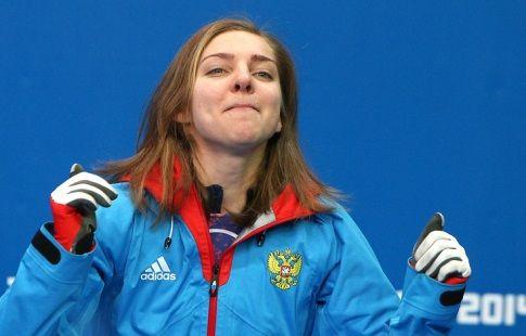 Никитина выиграла этап Кубка мира по скелетону в Альтенберге