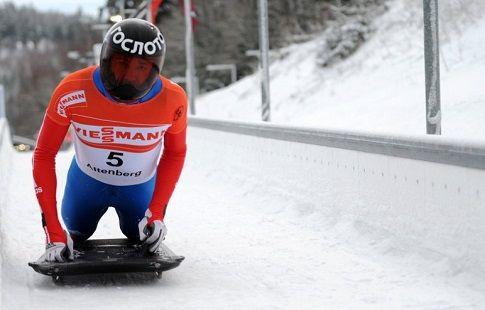 Скелетонист Третьяков выиграл этап КМ в Альтенберге, Трегубов — третий