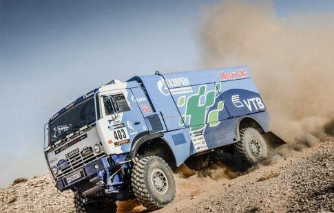 """Экипаж Каргинова победил на третьем этапе ралли """"Дакар"""" в зачёте грузовиков"""