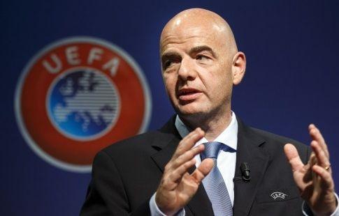 """Инфантино: """"ФИФА рассмотрит в Марракеше идею увеличения числа участников ЧМ-2022"""""""