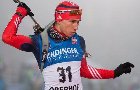 Й. Бё оставляет позади конкурентов и выигрывает спринт на этапе КМ в Хольменколлене, Логинов - 9-й