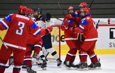 ЮЧМ-2019. Россия проиграла шведам, в 1/4 финала нашу команду ждёт Белоруссия