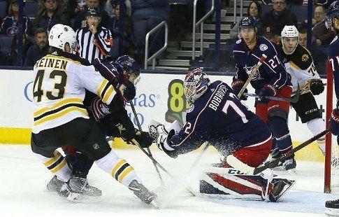 Хоккей. НХЛ, полуфинал конференции Восток, третий матч, Коламбус - Бостон, прямая текстовая онлайн трансляция