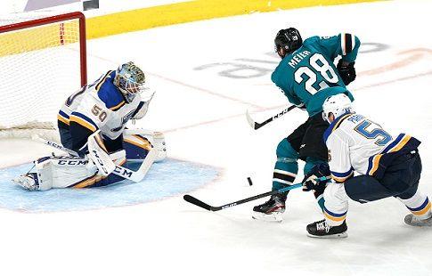 Хоккей. НХЛ, Западная Конференция, финал, третий матч, Сент-Луис - Сан-Хосе, прямая текстовая онлайн трансляция