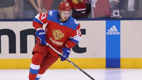 Дадонов вышел на пятую позицию в сборной России по очкам на ЧМ