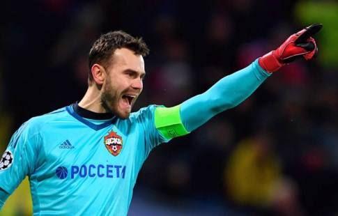 Акинфеев назвал сильнейших нападающих, которые ему противостояли