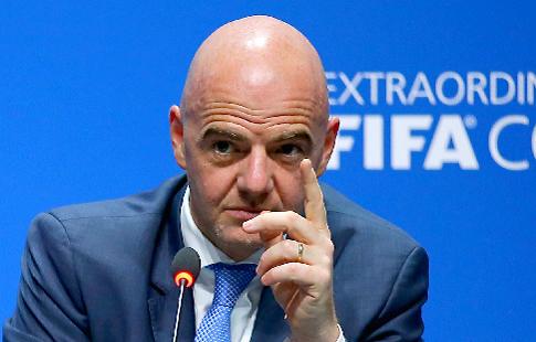 """Инфантино: """"В России мы провели лучший чемпионат мира в истории"""""""