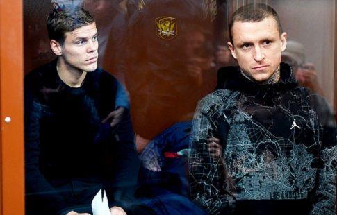 Кокорина и Мамаева этапируют через 1-2 недели