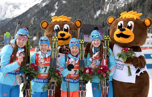 Как женская сборная России готовится к сезону. Видео