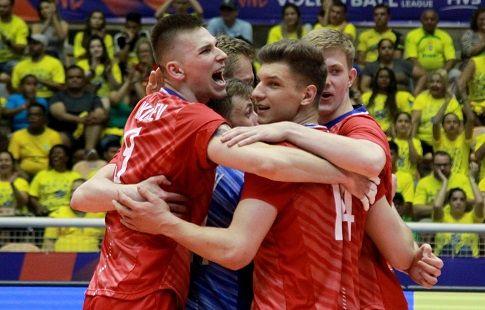 Лига Наций. Россия уверенно переигрывает Болгарию