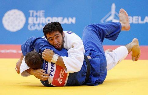 Дзюдоист Халмурзаев завоевал 43-ю медаль для России на Европейских игр-2019