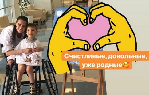 Загитова и Трусова пообщались с игроками Детской следж-хоккейной лиги. ВИДЕО