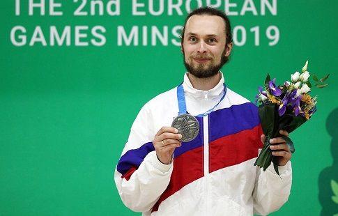 Стрелок Каменский принёс России 25-е золото на Европейских играх