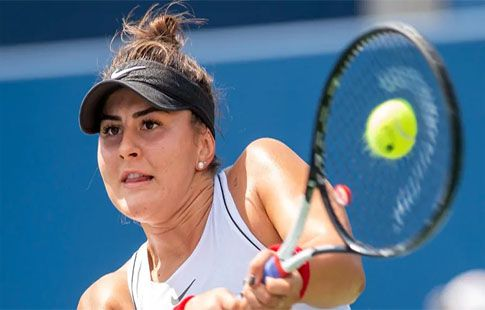 19-летняя Бьянка Андрееску одержала 5 побед из 5 против топ-10 в карьере. ВИДЕО