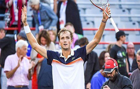 Евгений Кафельников высоко оценил игру 23-летнего российского теннисиста Даниила Медведева