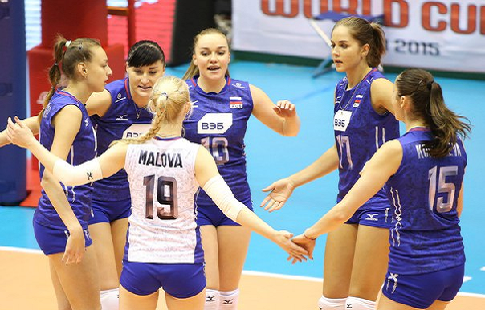 Как Россия разнесла Швейцарию на ЧЕ-2019 по волейболу: видеообзор лучших моментов матча