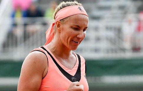 Кузнецова проигрывает Ан. Первая победа американки на US Open