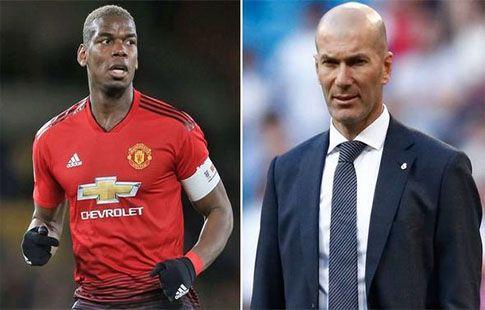 """Зидан надеется, что Погба завершит свой переход в """"Реал"""" этим летом"""