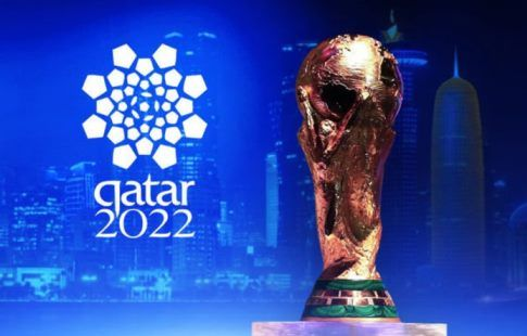 ФИФА представила официальный логотип ЧМ-2022. ВИДЕО