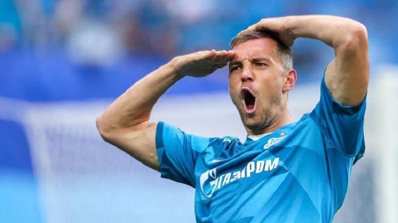 Шотландия - Россия, Дзюба сравнял счёт в первом тайме. ВИДЕО