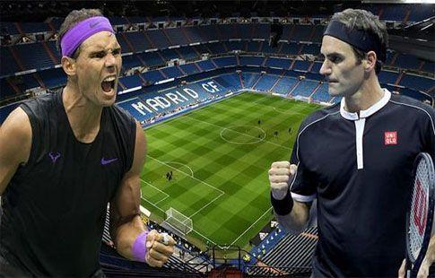 Надаль и Федерер могут сыграть на Сантьяго Бернабеу
