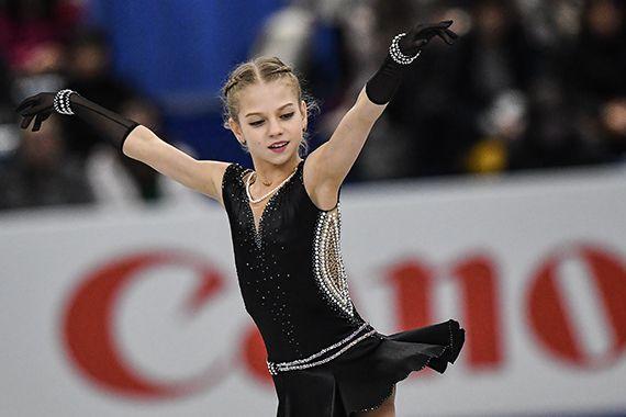 Фигуристка Трусова дважды попала в Книгу рекордов Гиннесса