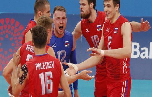 Волейбол, Чемпионат Европы, Россия - Северная Македония, прямая текстовая онлайн трансляция
