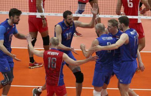 Россия переиграла Грецию в 1/8 финала ЧЕ-2019 по волейболу