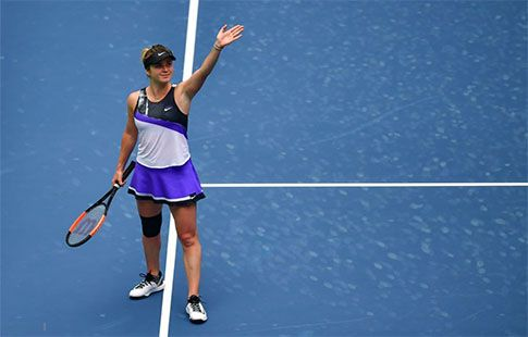 Свитолина уступила Риск в четвертьфинальном матче на турнире в Ухане