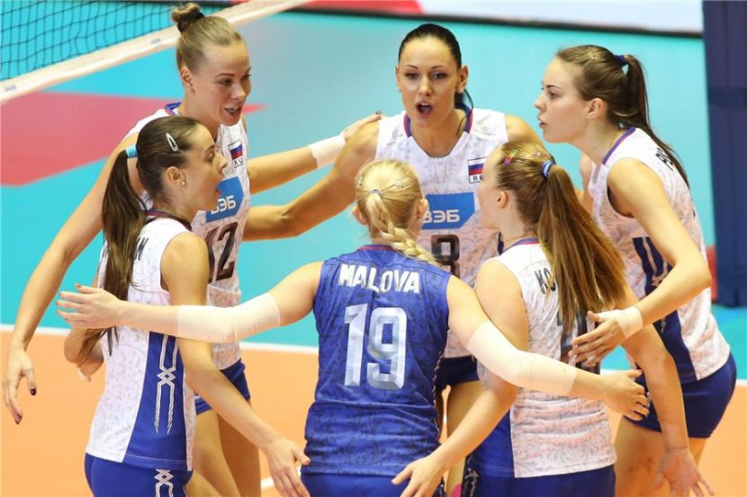 Волейбол, Кубок мира, 9 тур, Россия - США, Прямая текстовая онлайн трансляция