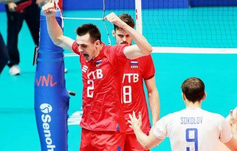 Сборная России по волейболу - вторая в европейском рейтинге за сентябрь