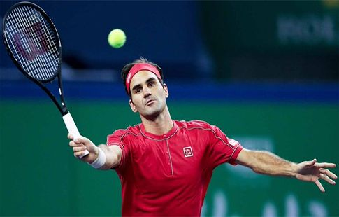 Федерер переиграл Рамоса-Виньоласа и прошёл в третий круг турнира в Шанхае
