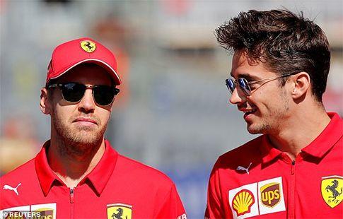 Леклер и Феттель не разговаривали после Гран-при России