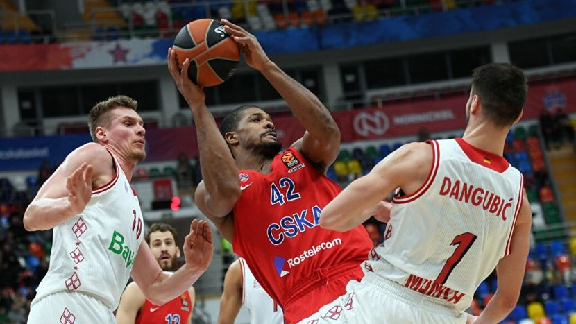 Баскетбол, Евролига, 2 тур, ЦСКА - Бавария, Прямая текстовая онлайн трансляция
