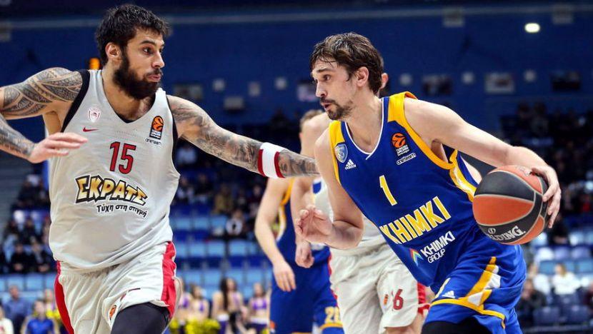 Баскетбол, Евролига, 2 тур, Химки - Баскония, Прямая текстовая онлайн трансляция