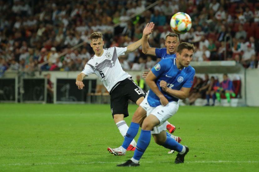 Футбол, Евро-2020, Квалификация, Эстония - Германия, Прямая текстовая онлайн трансляция