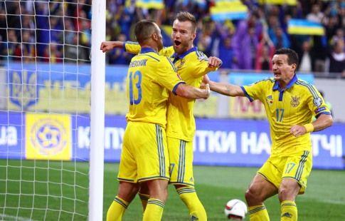 Украина - Португалия: стартовые составы команд