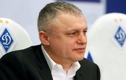 """Президент киевского """"Динамо"""" побил главу Федерации футбола Украины"""