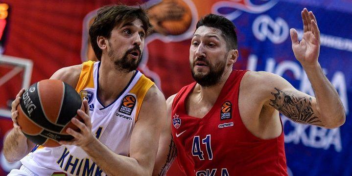 Баскетбол, Евролига, 3 тур, ЦСКА - Химки, Прямая текстовая онлайн трансляция