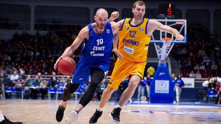 Баскетбол, Евролига, 7 тур, Зенит - Химки, Прямая текстовая онлайн трансляция