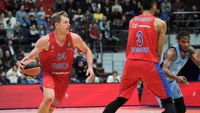 Баскетбол, Евролига, 7 тур, АСВЕЛ - ЦСКА, Прямая текстовая онлайн трансляция