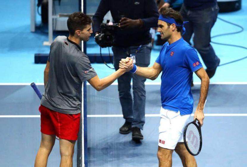 Теннис, Итоговый турнир ATP, 1 тур, Федерер - Тим, Прямая текстовая онлайн трансляция