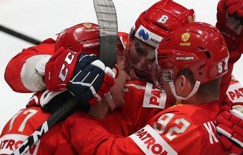 Сборная России обыграла команду OHL в матче Суперсерии