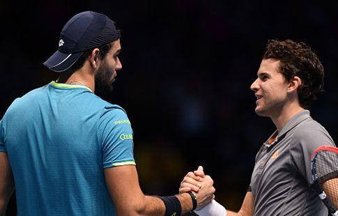 Берреттини переиграл Тима на Итоговом чемпионате ATP