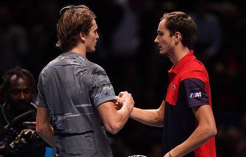 Медведев прокомментировал свой провал на итоговом турнире ATP