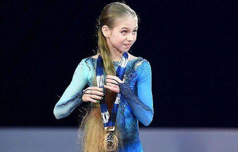 Победительница Гран-при России Трусова представила показательную программу. ВИДЕО