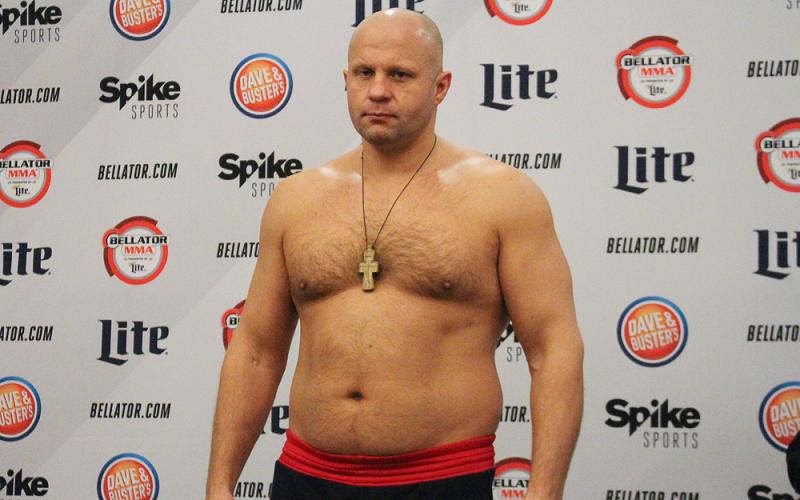 Ф. Емельяненко начал подготовку к следующему бою
