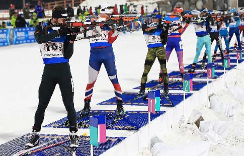 Назван состав российской команды на первую смешанную эстафету нового сезона Кубка мира по биатлону